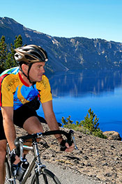 Crater Lake Biking Trip